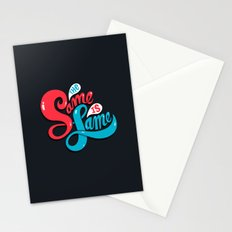 The Same is Lame Stationery Cards