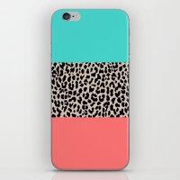 Leopard National Flag XVII iPhone & iPod Skin