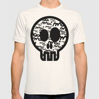 MOOIMOOI SKULL Mens Fitted Tee Natural SMALL