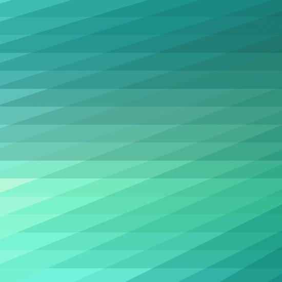 Fig. 043 Mint Green Geometric Diagonal Stripes Art Print