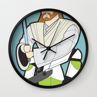 Obi-wan and Clone Trooper Wall Clock