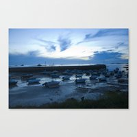 French Harbor Canvas Print