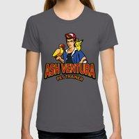 Ash Ventura Womens Fitted Tee Asphalt SMALL