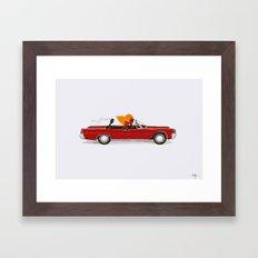 Match Cruise Framed Art Print