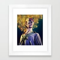 Frankenstein's Creature Framed Art Print