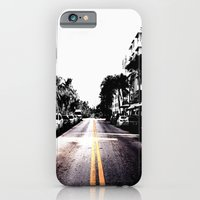 iPhone & iPod Case featuring pavement by Jaina Tharakan