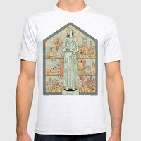 Saint Francis Mens Fitted Tee Ash Grey SMALL