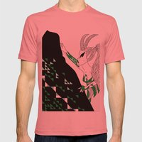 Capricorn / 12 Signs Of … Mens Fitted Tee Pomegranate SMALL