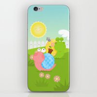 Snails iPhone & iPod Skin