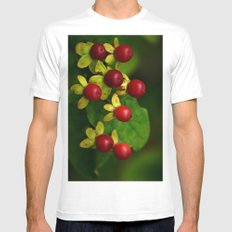 Berry Good! Mens Fitted Tee White SMALL