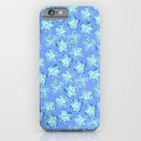 Wallflower - Colony Blue iPhone 6 Slim Case