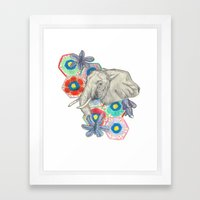 Elephanté Framed Art Print