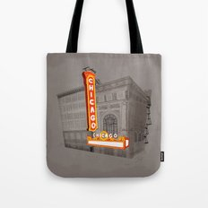 The Chicago Theater Tote Bag