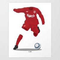 Liverpool 2004/05 - Cham… Art Print