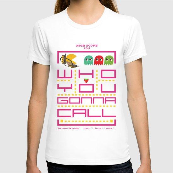 pacman ghostbuster T-shirt