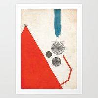 Ratios II. Art Print