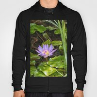 Exquisite Water Lily Hoody