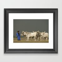 Herdsmen  Framed Art Print