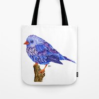 Flowerly Serene Sophia. Purple Edition Tote Bag
