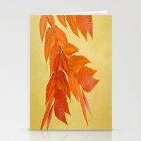 Fall mood Stationery Cards