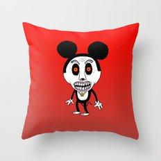 Weird Mickey Throw Pillow