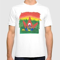 Nothing Like Camping... Mens Fitted Tee White SMALL