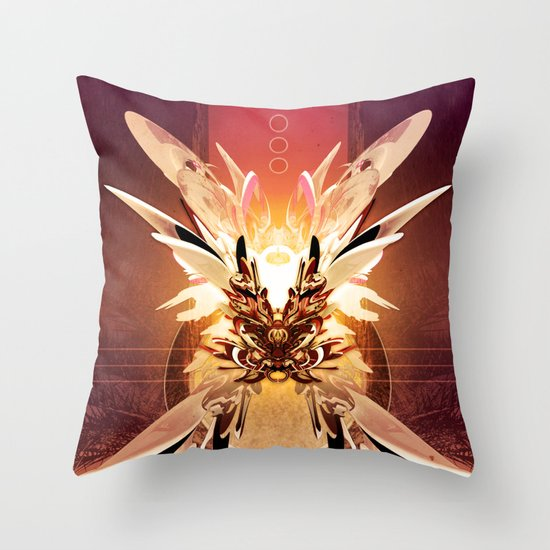 Krysaliss Throw Pillow