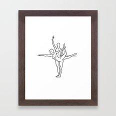 adjgh Framed Art Print