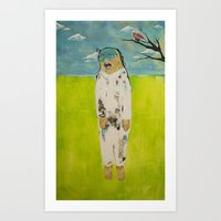 eror, teror, happiness Art Print