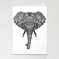 Polynesian Elephant Stationery Cards