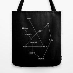 GETLOST Tote Bag