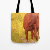 Wild As The Flowers Tote Bag