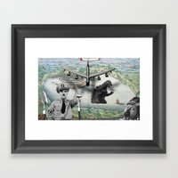 The Madness Of War Framed Art Print