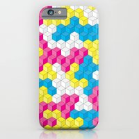 iPhone & iPod Case featuring CUBOUFLAGE CANDY by Oreezy