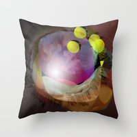 the abstract dream 25 Throw Pillow