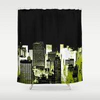 Urban Streets NYC Shower Curtain
