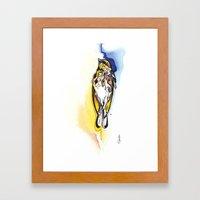 Deadbird. Framed Art Print