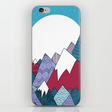Blue Sky Mountains iPhone & iPod Skin