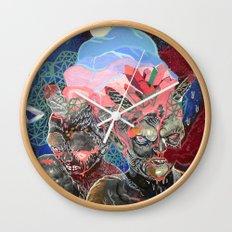 mine is bigger Wall Clock