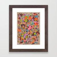 Schema 14 Framed Art Print