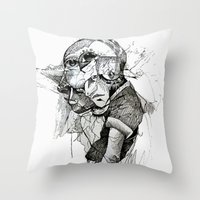 Dream Cycle Throw Pillow