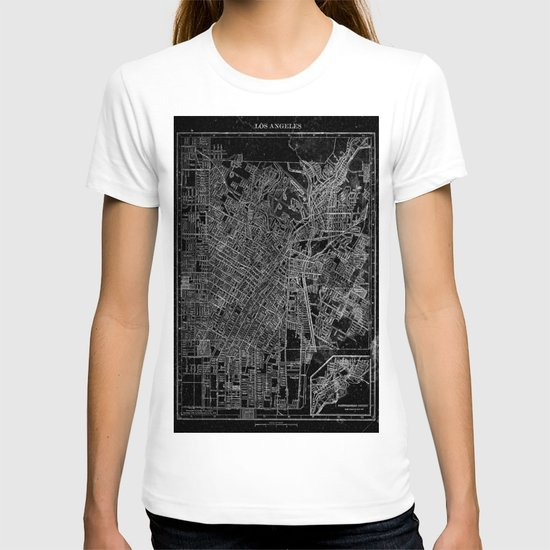 Los Angeles, California, Circa 1908. T-shirt