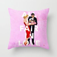 All Is Fair In Love Throw Pillow