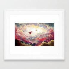 Zeppelins Framed Art Print