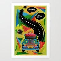 The Philippine Jeepney Art Print