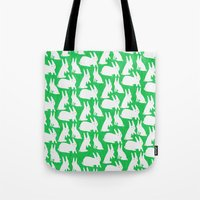 How Many Rabbits are in the picture?  Tote Bag