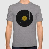 Music, Everywhere Mens Fitted Tee Athletic Grey SMALL