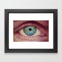 World Eye View Framed Art Print