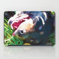 Dog Tanning iPad Case