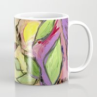 Flower Swirls Mug